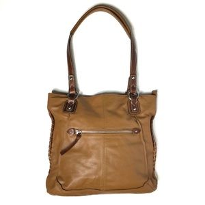 Nino Bossi Leather Hobo Handbag